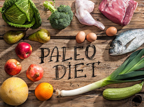 Raw healthy dieting products for Paleo diet
